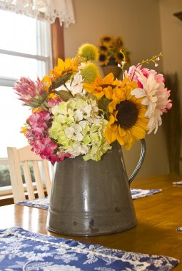 Country Bouquet of Flowers