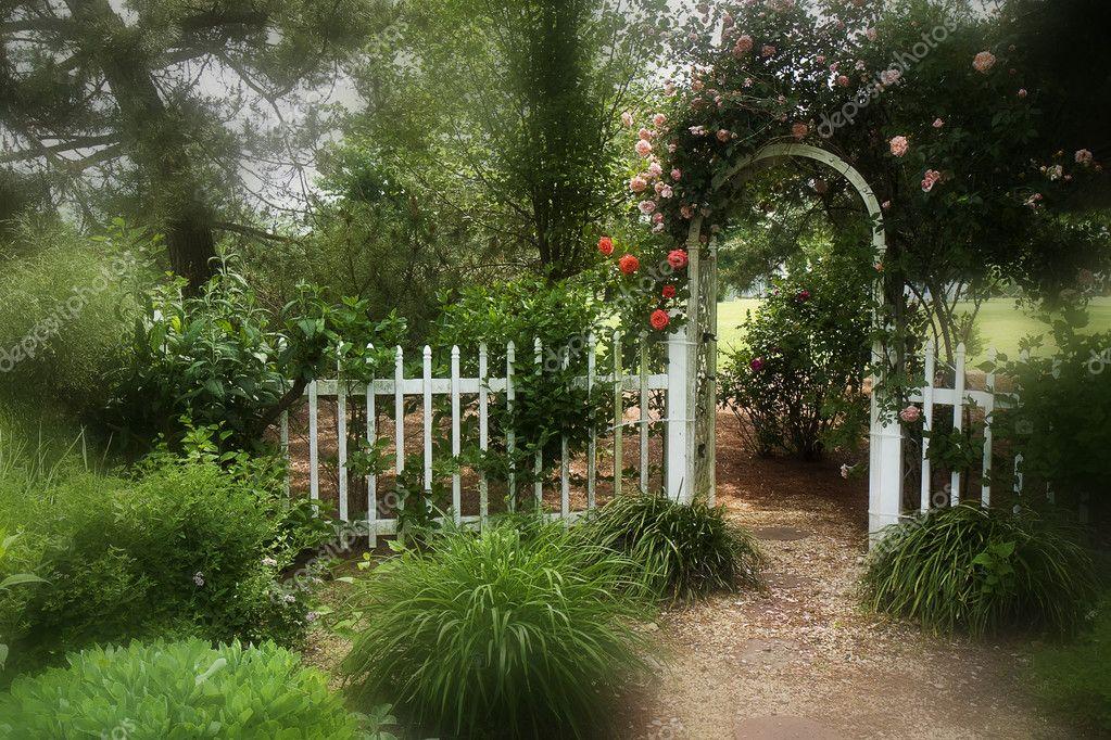 Schöne Garten Bilder U2014 Stockfoto