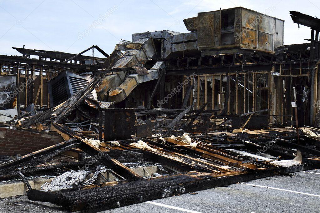 Full View Restaurant Burnt down