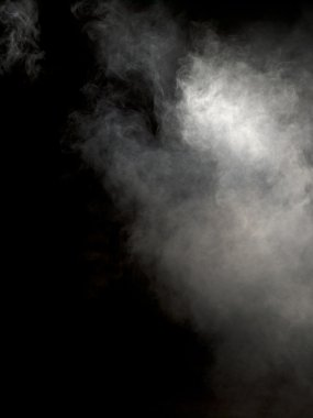 Image of fog over dark background