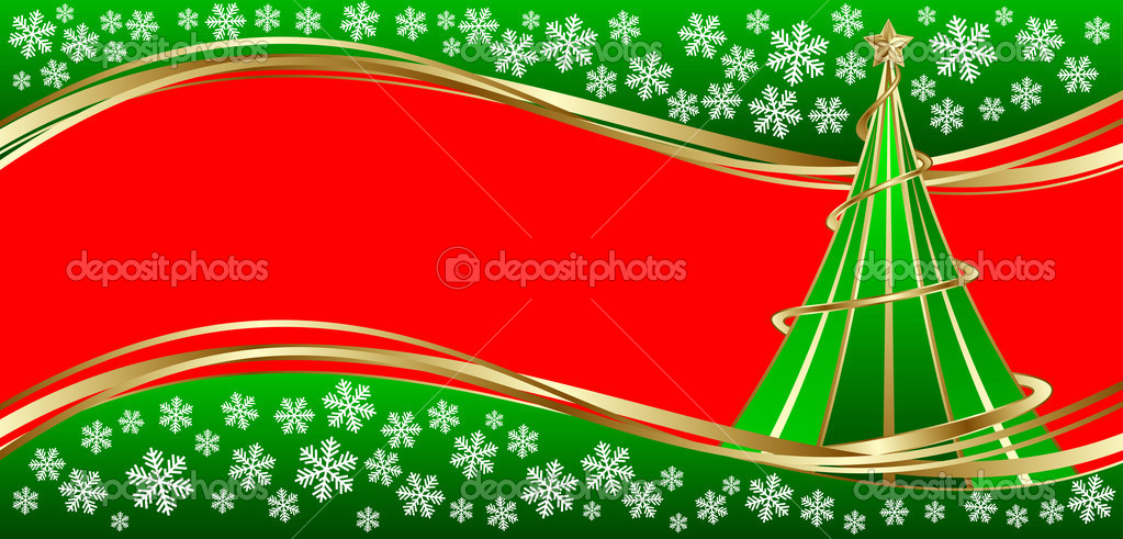 template holiday card merry christmas and happy new year stock vector