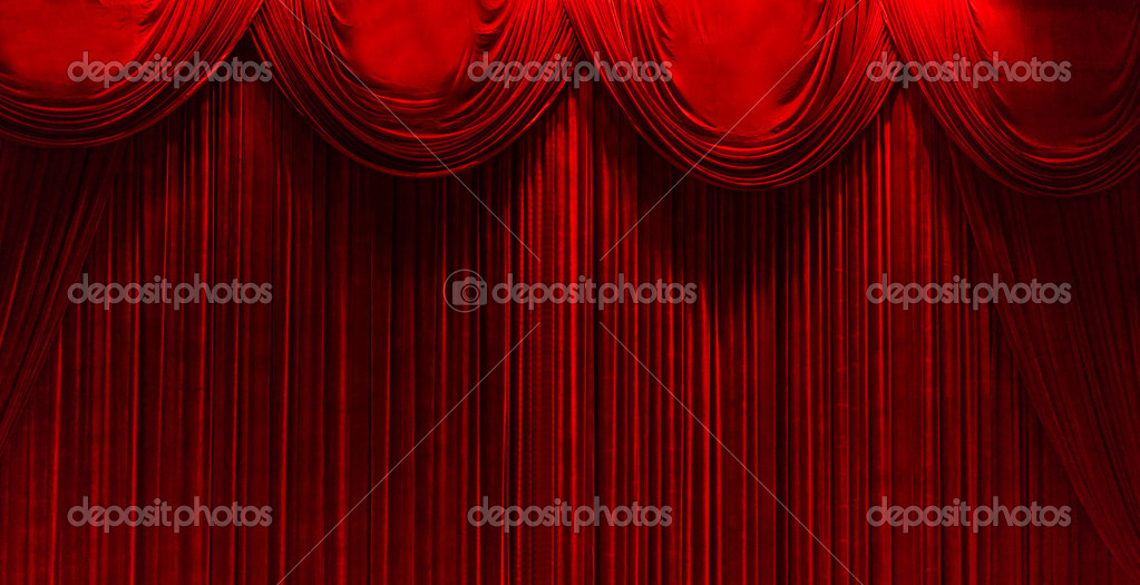 Red Velvet Stage Theater Curtains Stock Photo C Gotvideo 11334668