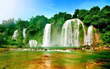 Ban gioc water fall, cao bang, viet nam