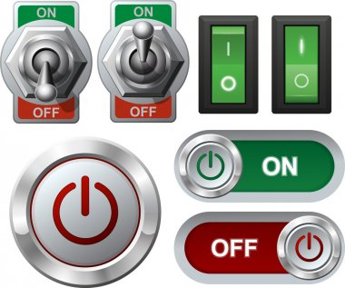 Electric switches and button