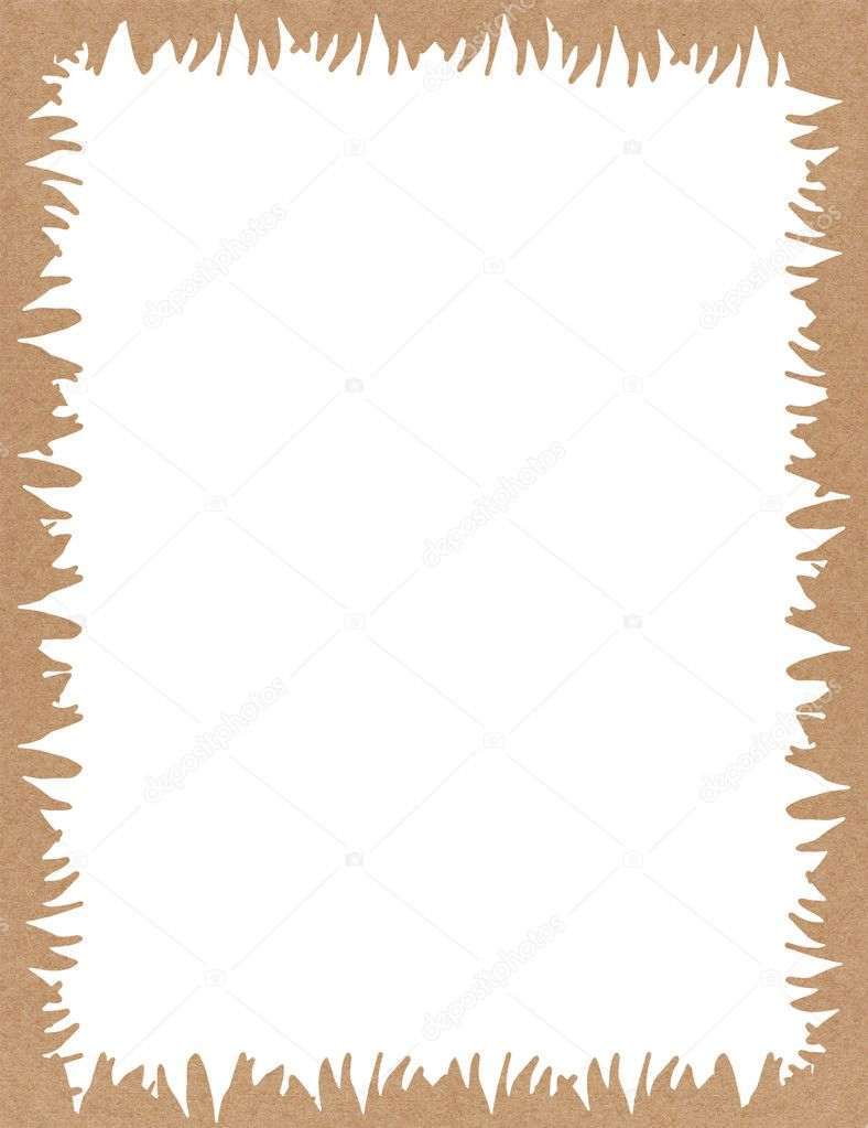 Recycling Papier Rahmen-design — Stockfoto © jakgree #12254078