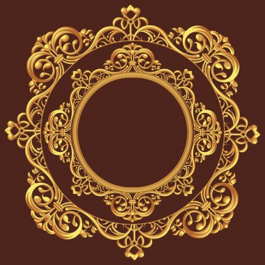 Golden Circle Ornament