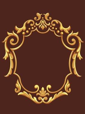 Golden Royal Ornament