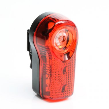 Bicycle signal light.