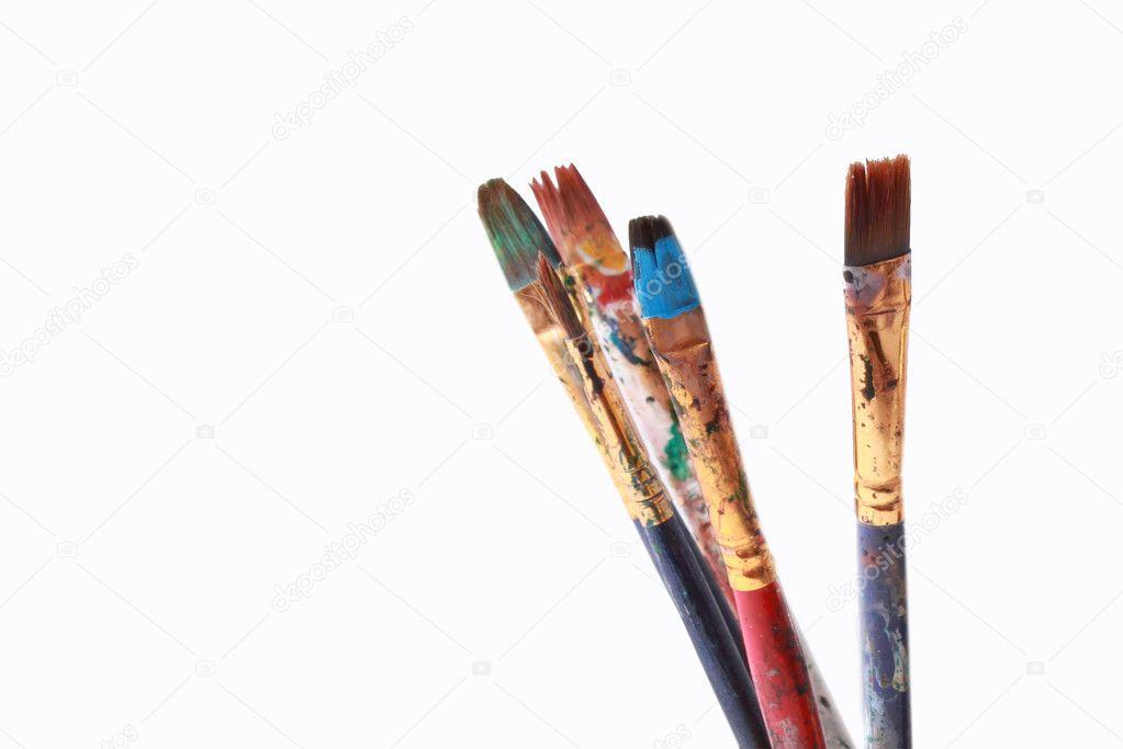 Pinceles para pintar — Fotos de Stock © imagevillage #11246665