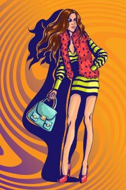 Decorative fashion female