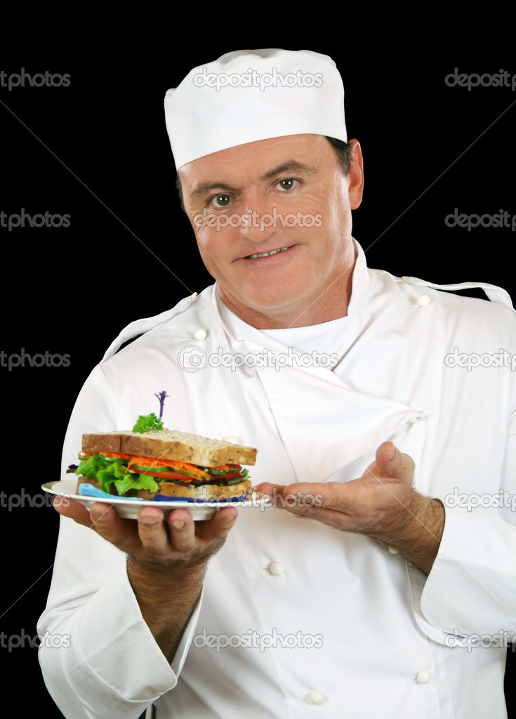 Kanapka Szefa Kuchni Zdjęcie Stockowe Jabiru 11568897
