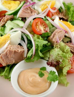 Tuna Salad And Dip