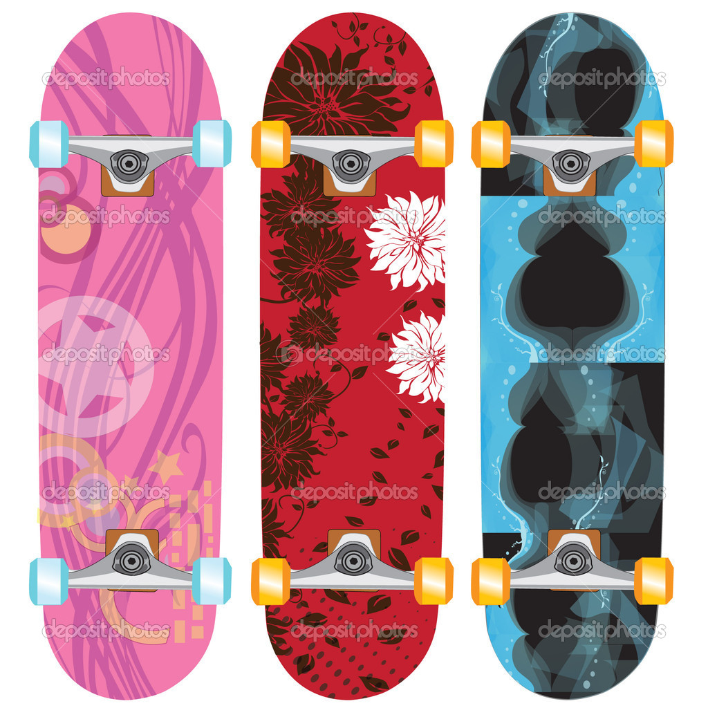 Skateoard design female