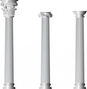 Greece Corinthian Ionic Doric Columns