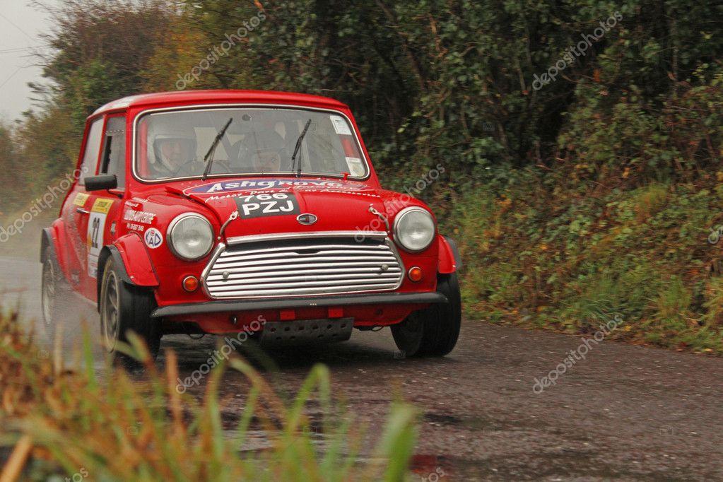 Mini rally car – Stock Editorial Photo © elmonchi81 #11876646