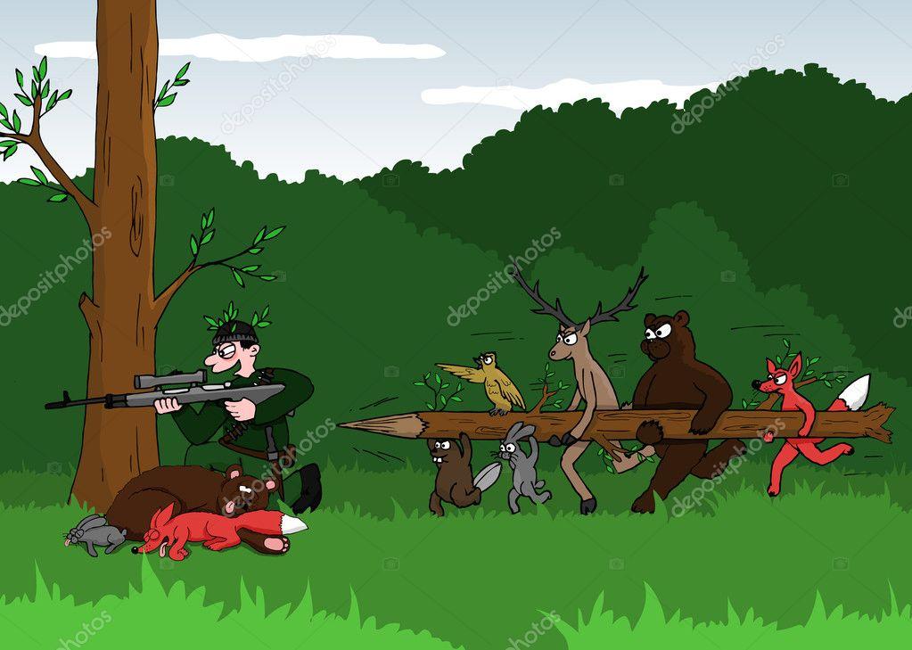 Картинки браконьер прикольные, совой-надписи ней