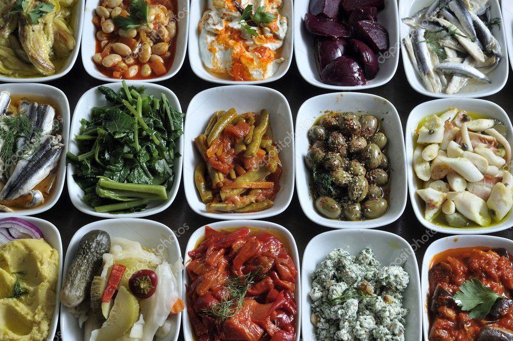 Greek and Turkish snacks
