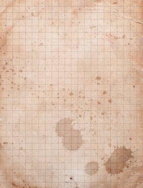 Vintage squared paper