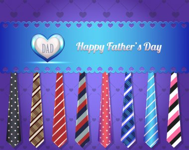 Happy Father's Day Vector Design