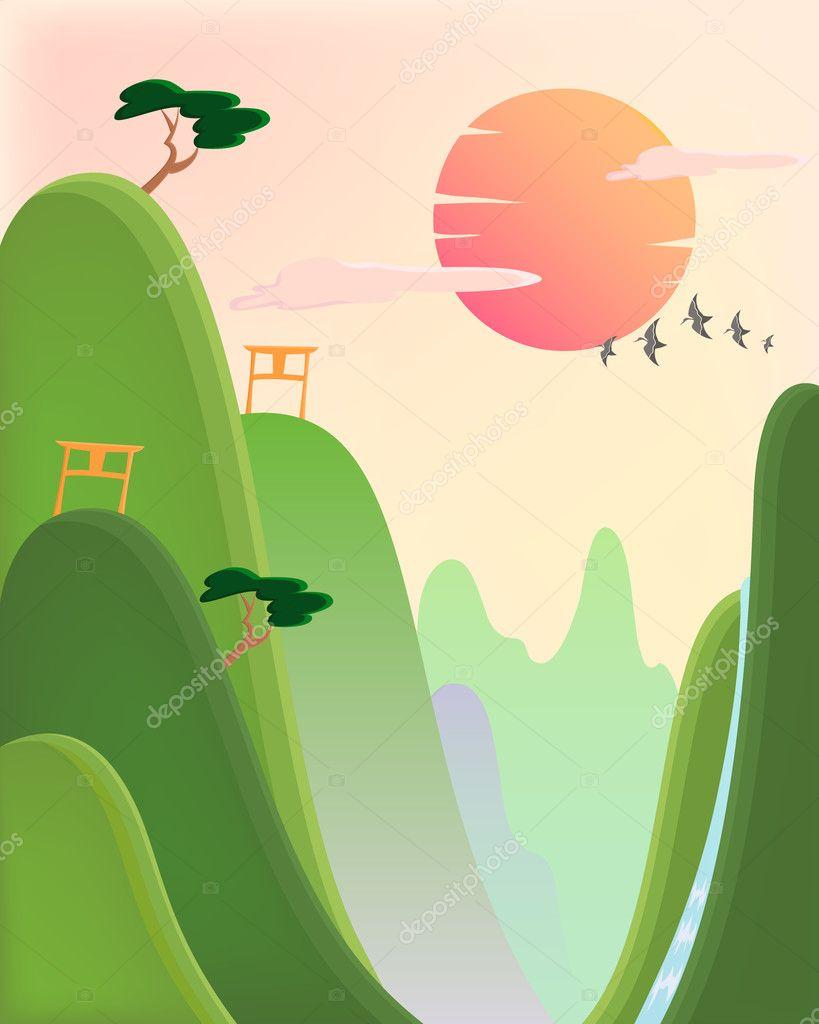 Asian nature