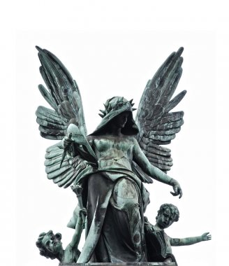Statue of fallen angel