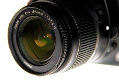 Dslr lens close up
