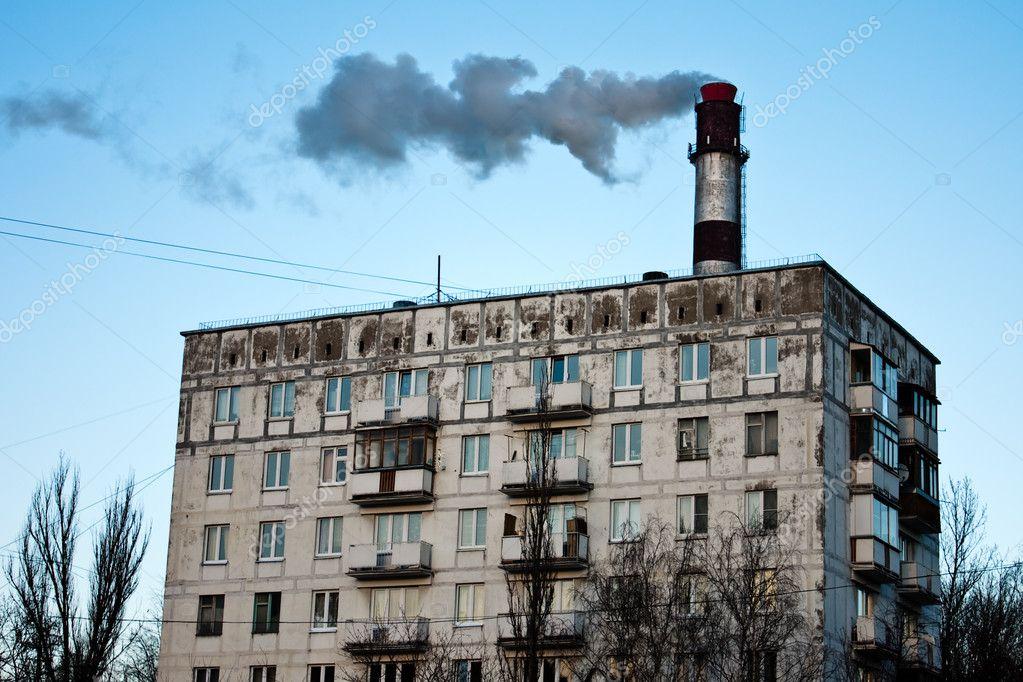 ošklivé kouření trubice