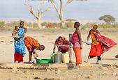 dvanáctiletou Keňa, Afrika