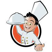 vtipné kreslené kuchař
