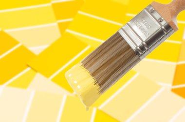 Paint Brush - Yellow
