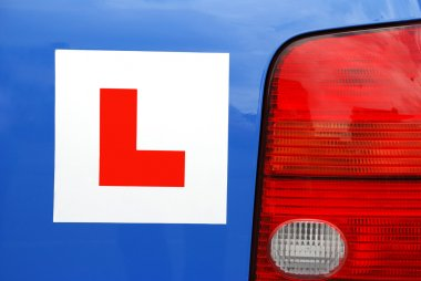 Learner Driver Plate