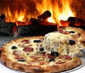Fotografia forno pizza