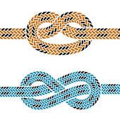 horolezecké lano uzel symboly