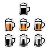 Beer mug symbols