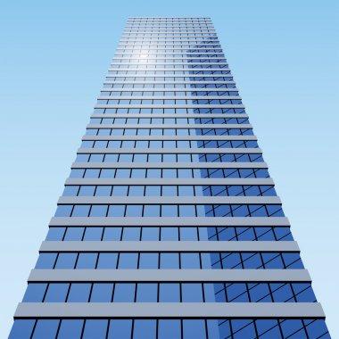 """Картина, постер, плакат, фотообои """"бизнес-здание"""", артикул 11493272"""