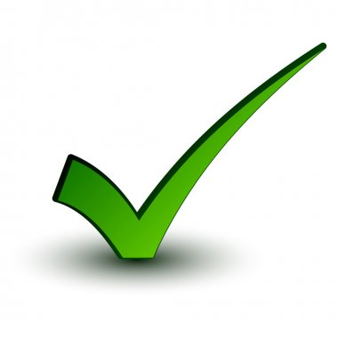 green positive checkmark