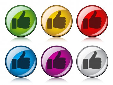 thumbs up buttons