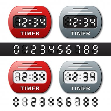 mechanical counter - countdown timer