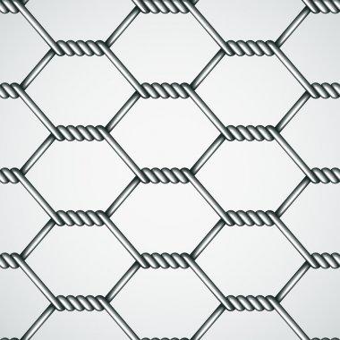 chicken wire seamless background