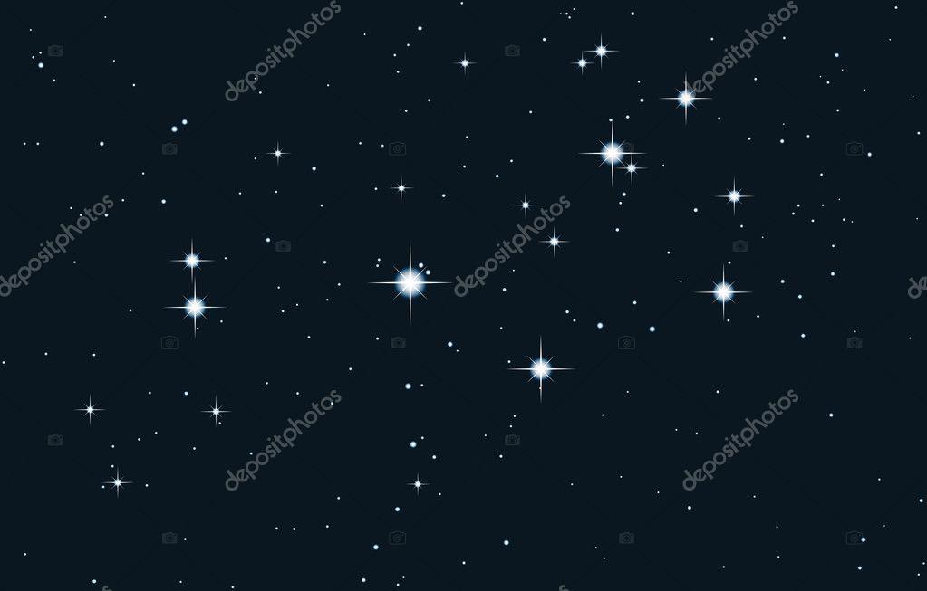 star galaxy - pleiades