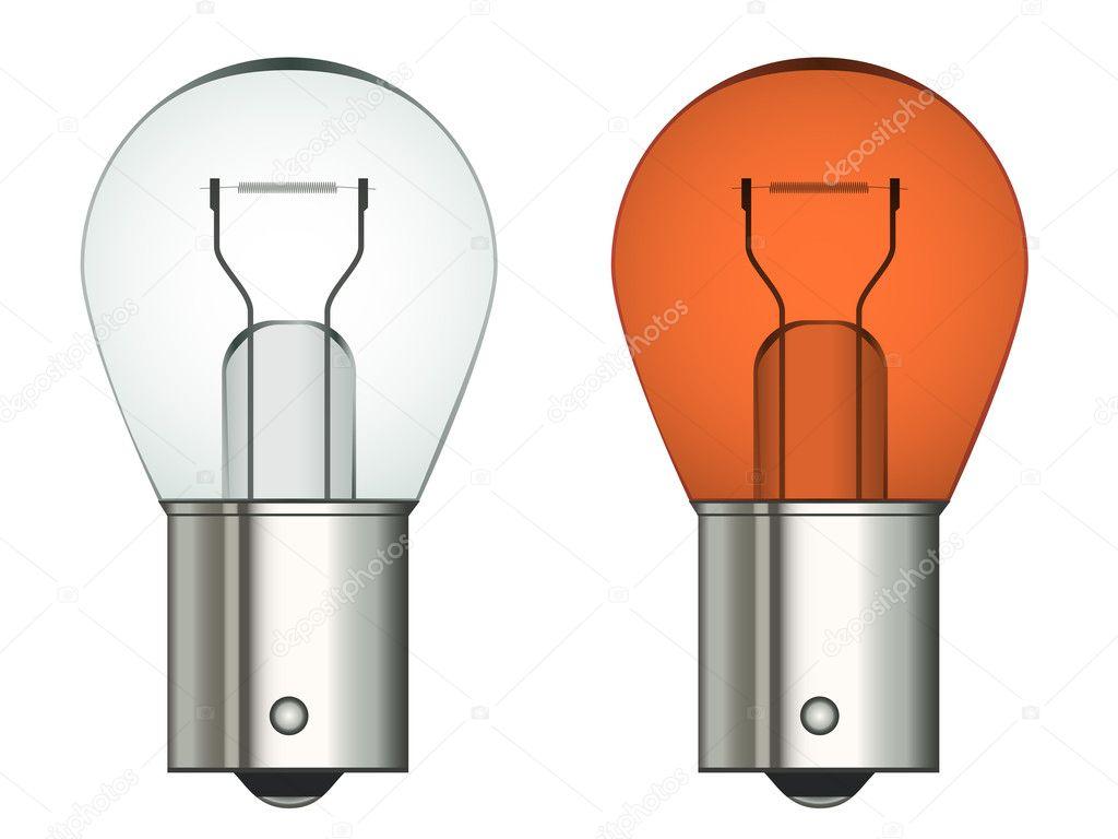 ampoule de voiture de ba onnette image vectorielle happyroman 11494792. Black Bedroom Furniture Sets. Home Design Ideas