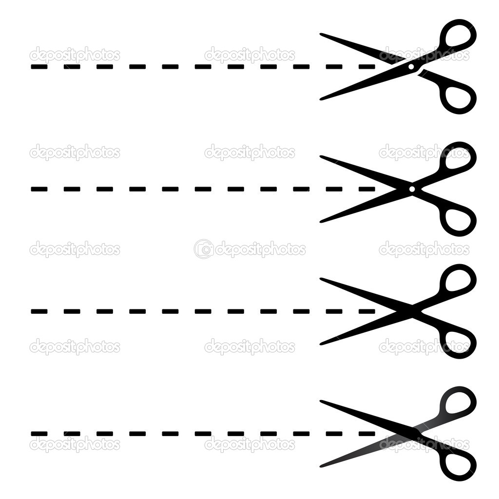 Картинка с полосками для вырезания