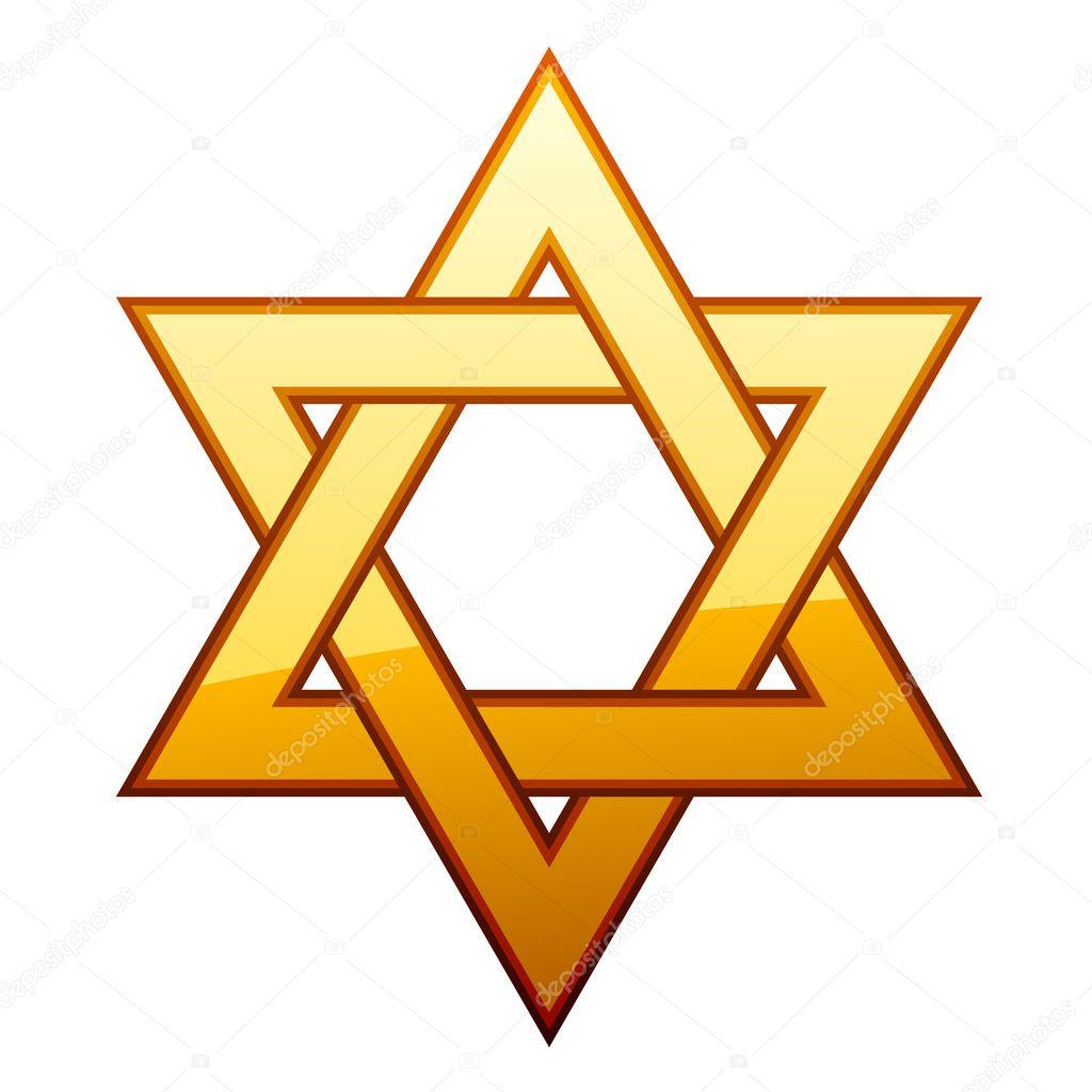 golden david star stock vector happyroman 11496866 rh depositphotos com Purple Star Clip Art Star Border Clip Art