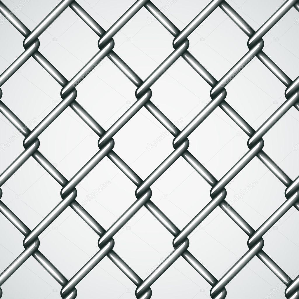 alambre valla fondo transparente Vector de stock happyroman