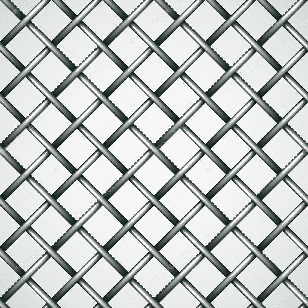 Draht Zaun nahtlose Hintergrund — Stockvektor © happyroman #11497506