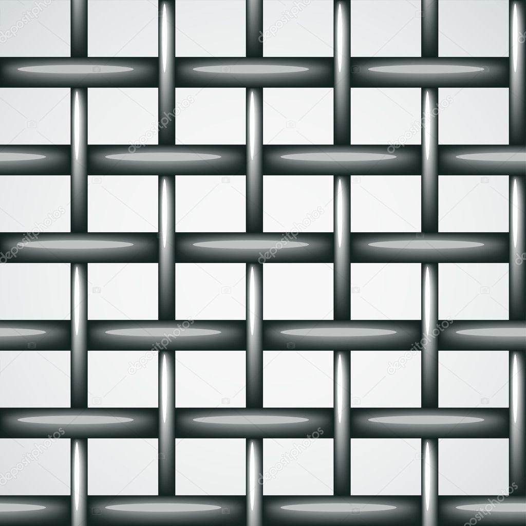 Draht Zaun nahtlose Hintergrund — Stockvektor © happyroman #11497508