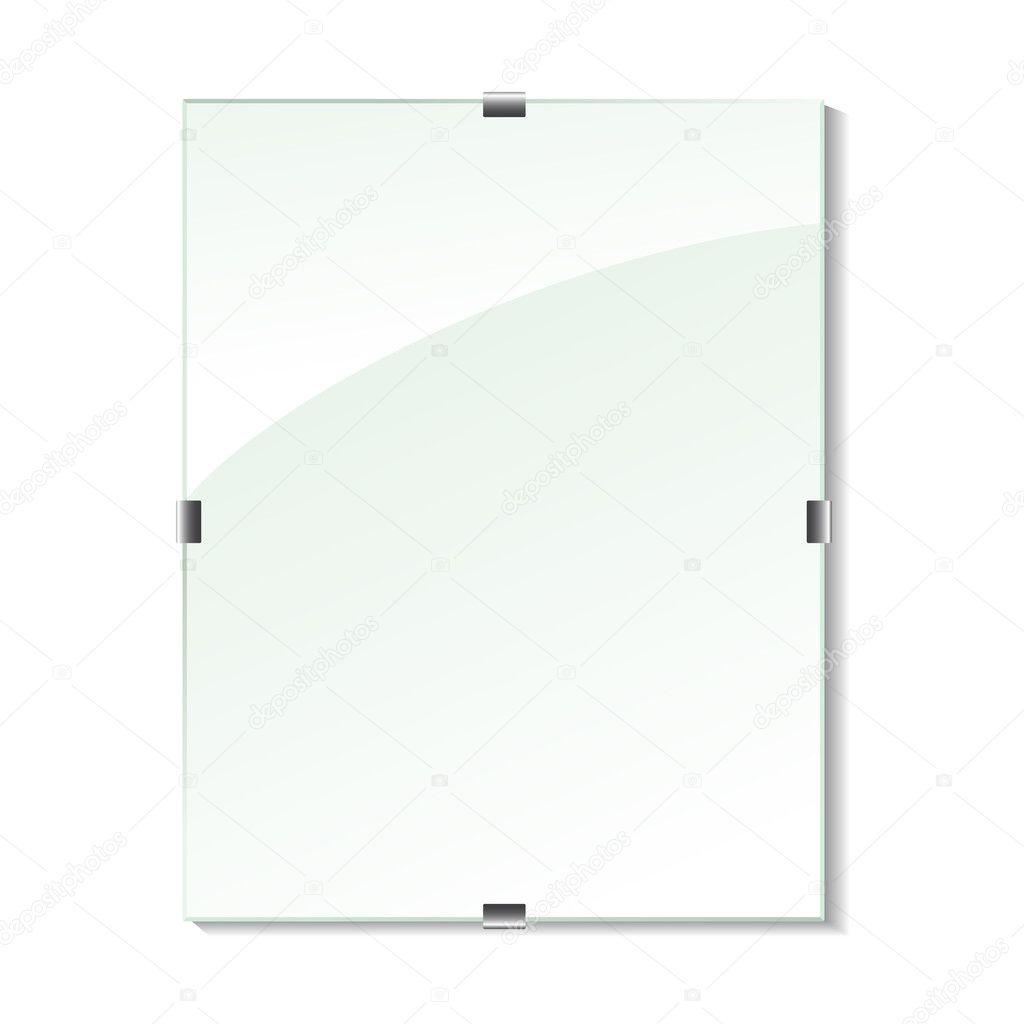marco de cristal Vector — Vector de stock © Rena_Design #11626045