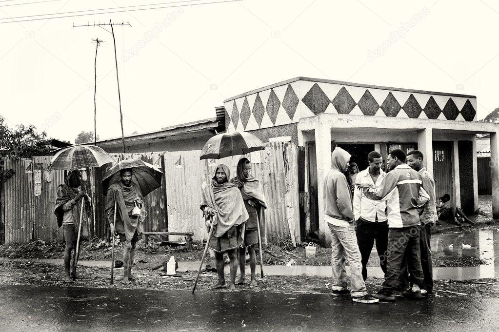 Ethiopian on the street