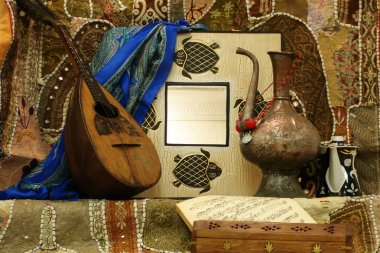 Musical instrument and the vessel