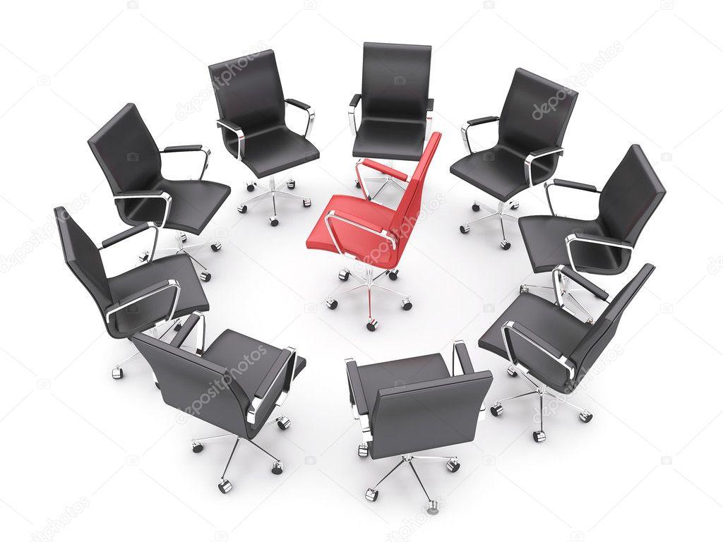 Sedie per ufficio u foto stock shtanzman